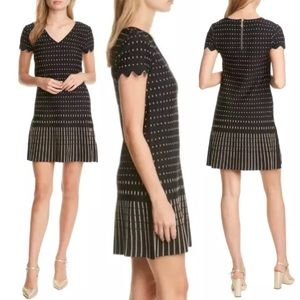 NEW Ted Baker Maciiey Stitch Detail Knit Dress - 0